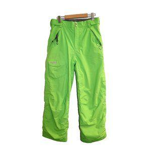 The North Face Neon Green Ski Pants